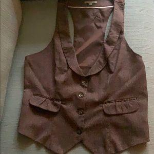 Chocolate Brown Charlotte Russe Vest